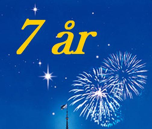 grattis på 7 årsdagen 7 år!   09. Sajten och iFokus   Astronomi iFokus grattis på 7 årsdagen